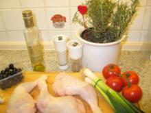 Geflügel: Tomatenhuhn - Rezept