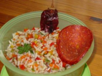 Mexikanischer Reissalat - Rezept