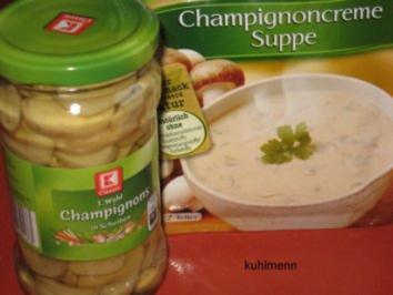Champignoncreme-Suppe - Rezept