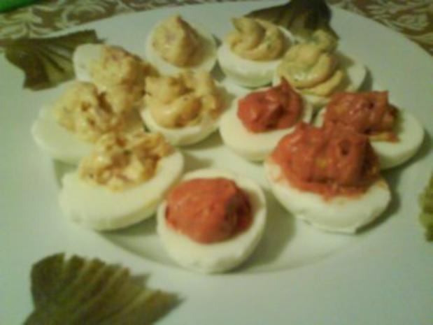 Gefüllte Eier - Rezept - Bild Nr. 5