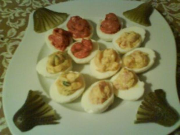 Gefüllte Eier - Rezept - Bild Nr. 6