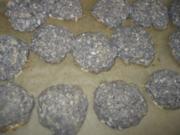 Mohn-Kokos-Makronen - Rezept
