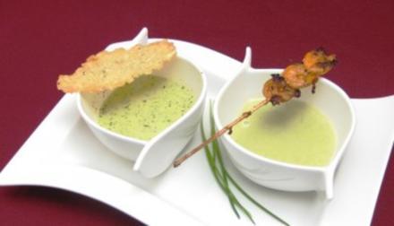 Grünes Suppen-Duo - Rezept