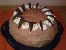 Schoko-Minz-Torte - Rezept