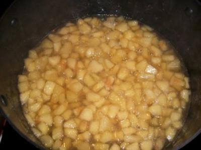 Apfel-Quitten Kompott - Rezept