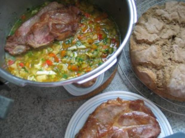 Suppen + Eintöpfe: Alles Gemüse, das noch im Kühlschrank war - Rezept - Bild Nr. 4