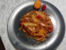 Pikante Weißkraut-Pfanne - Rezept