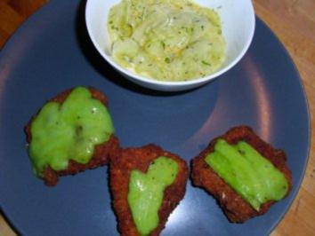 Wasabi-Puten-Nuggets - Rezept