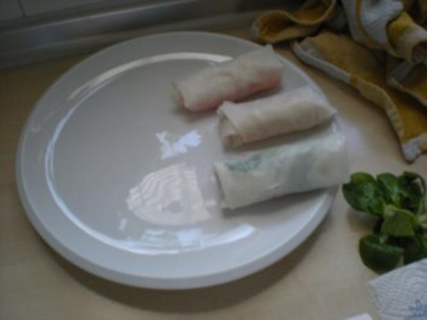 Reispapierröllchen mit Satay Dip - Rezept - Bild Nr. 4