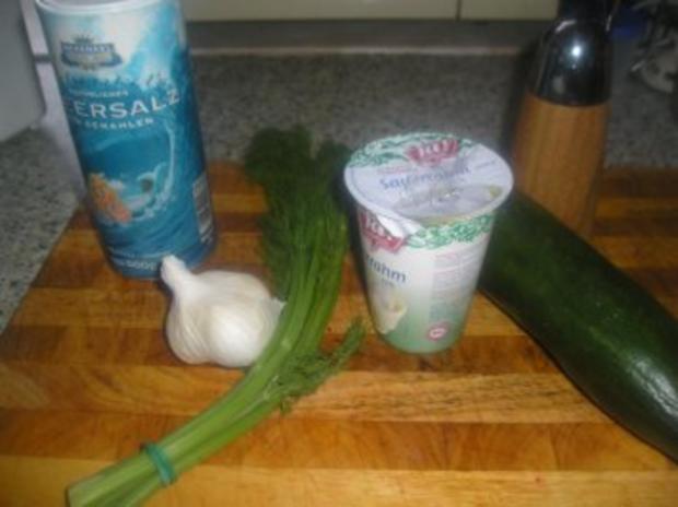Rahm-Gurkensalat - Rezept - Bild Nr. 2