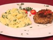 Kalberne Chili-Fleischpflanzerl (Indira Weis) - Rezept