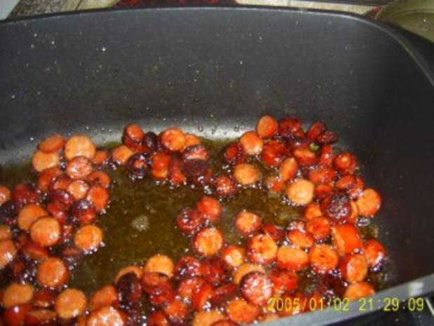 Bohnen Suppe mit Debreziener - Rezept - Bild Nr. 4