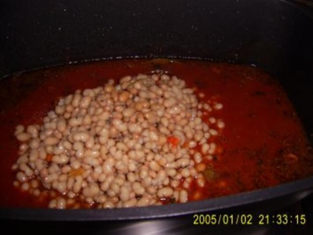 Bohnen Suppe mit Debreziener - Rezept - Bild Nr. 6
