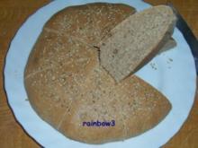 Backen: Fladenbrot mit Dinkelmehl - Rezept