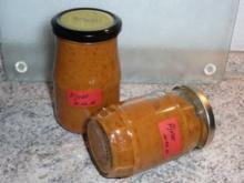 Soßen/Dip: Ajvar, Paprika-Auberginenmus mild - Rezept
