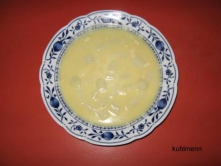 Spargelcreme-Suppe - Rezept