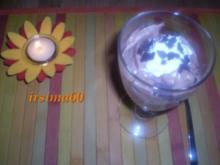 Beschwipste Birne küsst Schokocreme - Rezept