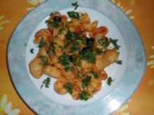 Pasta alla Puttanesca - Rezept