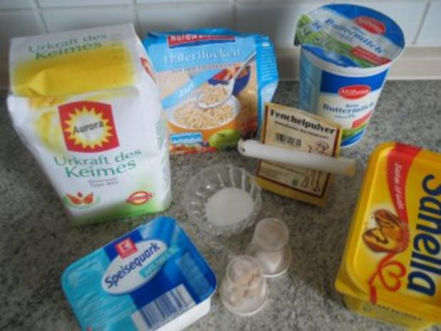 Brot + Brötchen: Buttermilch-Quark-Brot - Rezept