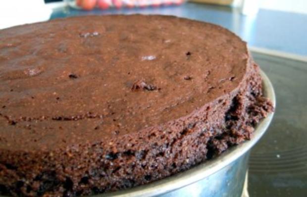 Schokoladen Orangen Kuchen