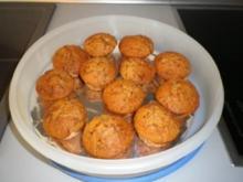 Krokant - Marzipan - Muffins - Rezept