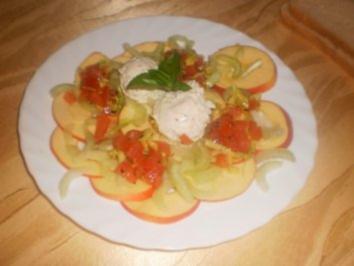 Apfel-Sellerie-Carpaccio - Rezept