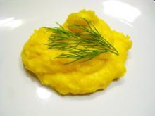 Beilage: Isländisches Safran-Kartoffel-Püree - Rezept