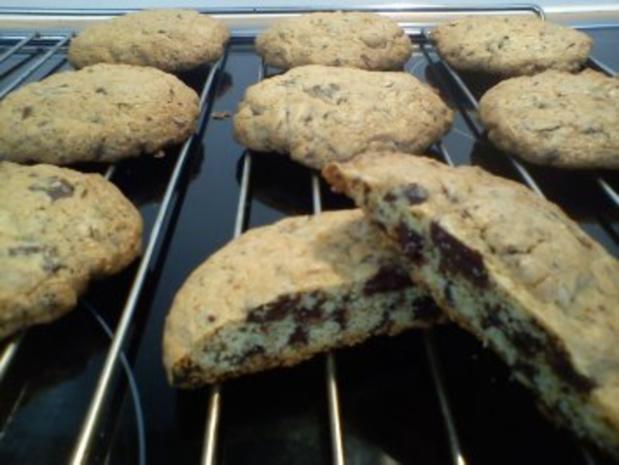 xxl schoko cookies  rezept mit bild  kochbarde