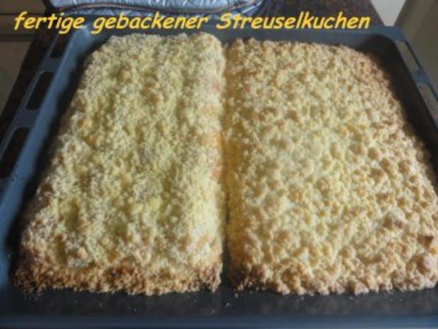 Hefe:    APRIKOSEN-BLECHKUCHEN mit  Butterstreusel - Rezept - Bild Nr. 9