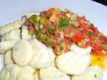 Dips und Saucen: Warmes Tomatensugo - Rezept