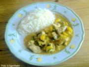 Fruchtiges Schweinefleisch-Curry - Rezept