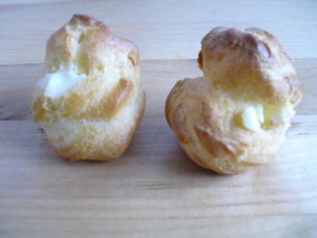 Mini Vanille-Windbeutel - Rezept - Bild Nr. 7