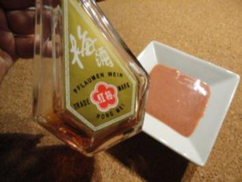 Pflaumenwein-Sauce - Rezept