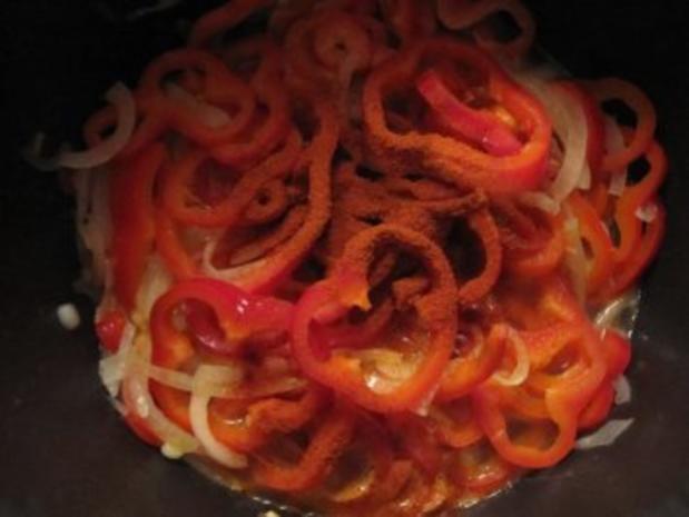 Makkaroni mit Paprika-Hüttenkäse-Sauce - Rezept - Bild Nr. 7