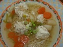 Frühlingshühnersuppe mit Ebly - Rezept