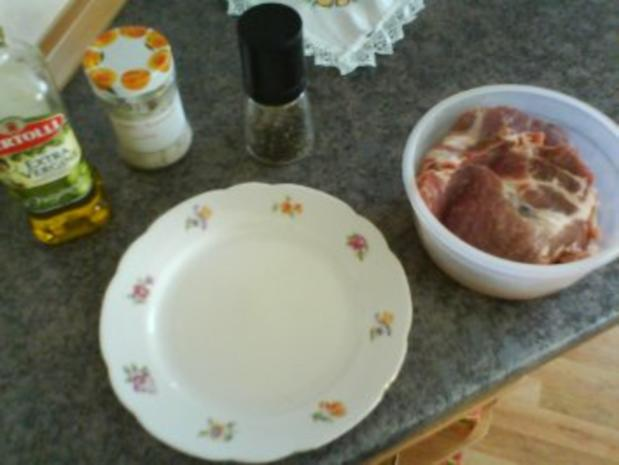 Schweinesteak mit frischem Spargel - Rezept - Bild Nr. 5