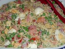 Lachs - Spaghettisalat - Rezept