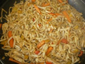 Gebratene Nudeln Thai - Rezept