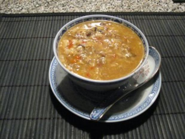 Sauer-Scharf-Suppe - Rezept