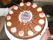 Kinder-Schokolade Torte - Rezept