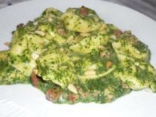 Tortellini in Spinat-Schinken-Soße - Rezept