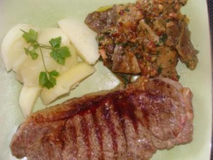 Gemüse : - Austernpilze - - Rezept