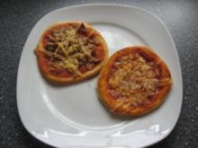 Mini Pizzen - Rezept
