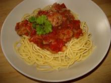 Hackbällchen in Tomatensauce - Rezept