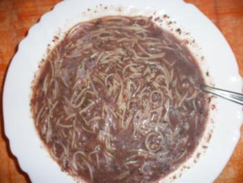 Hausmacher Wurstsuppe mit Fadennudeln - Rezept