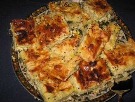 Käse-Spinat-Yufka Vegetarisch - Rezept