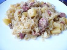 Sauerkraut  -Pfanne - Rezept