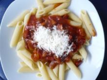 Penne mit Chorizo - Rezept