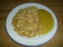 Schnelle Nuss-Brösel Spätzle - Rezept