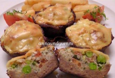 Rezept: gefüllte Hack-Muffins
